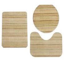 conjunto de tapete para banheiro