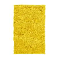 tapete para banheiro amarelo