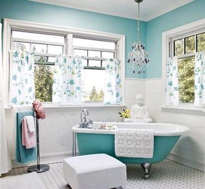 Banheiro inspirado no filme