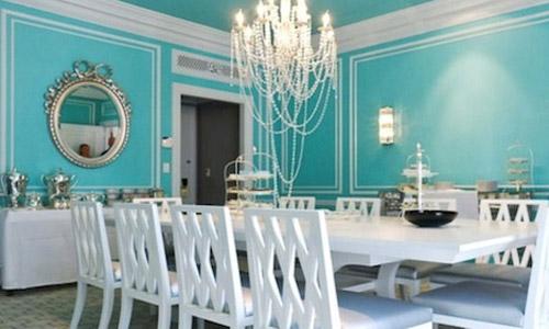Sala de jantar inspirada no filme