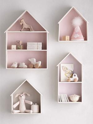 nichos cor de rosa