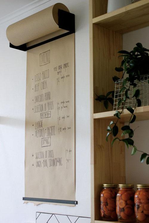 mural-lousa-rolo-de-papel-pardo