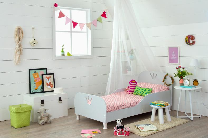 decoração do quarto infantil com tematica de princesa