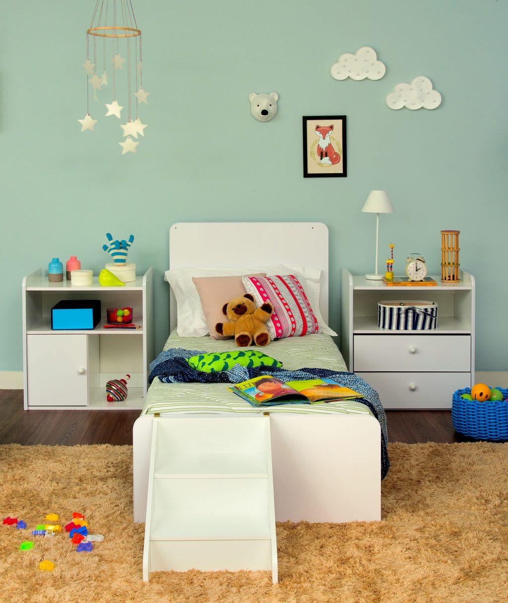 decoração do quarto infantil com cama montessoriana