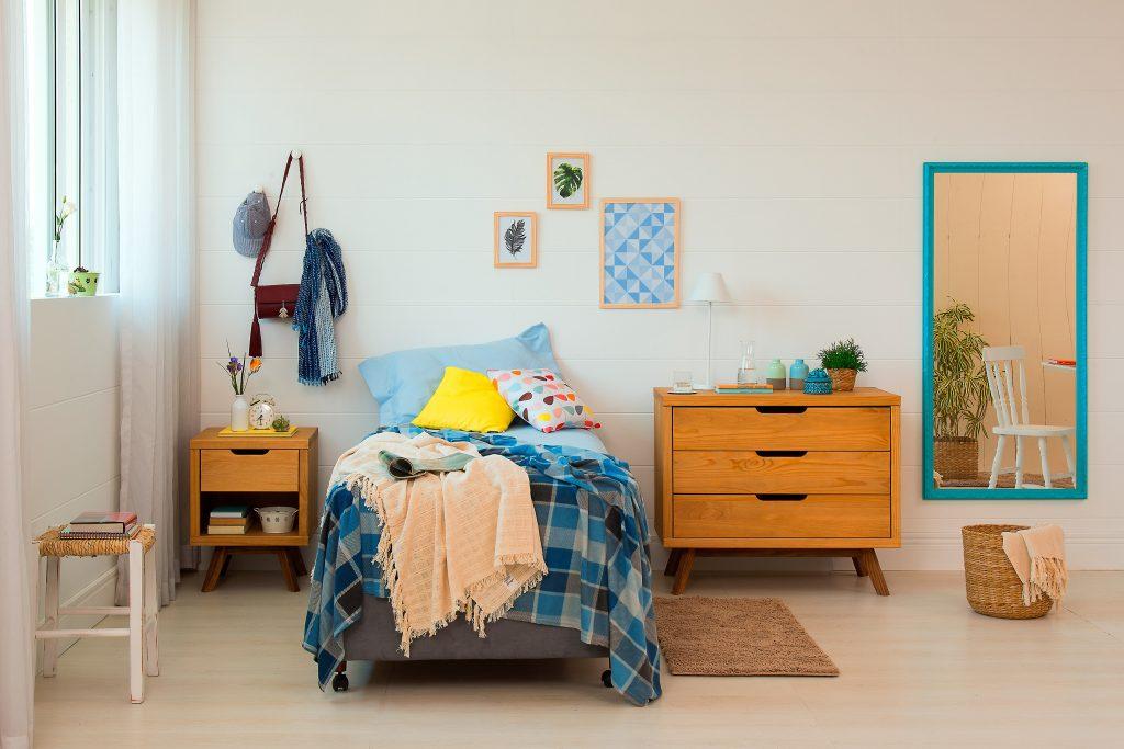decoração rústica para quarto mais aconchegante