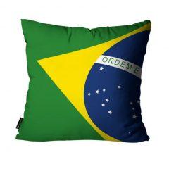 festa em casa com almofada do brasil