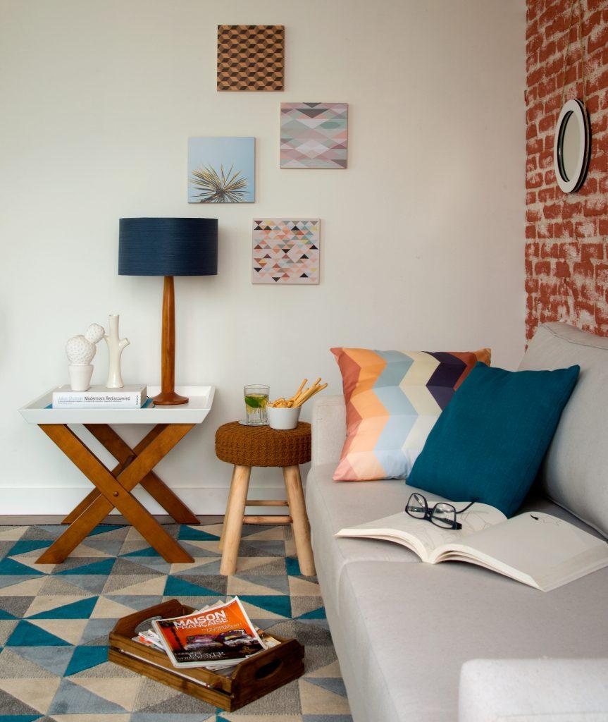 Bancos na decoração - sala de estar