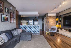 decoração de apartamentos pequenos loft