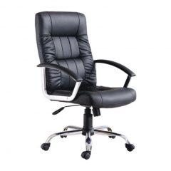 dia dos pais presente cadeira presidente preta