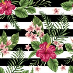 adeviso de parede floral para primavera