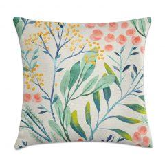 almofada florida para primavera