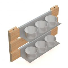 suporte de jardim vertical para área externa