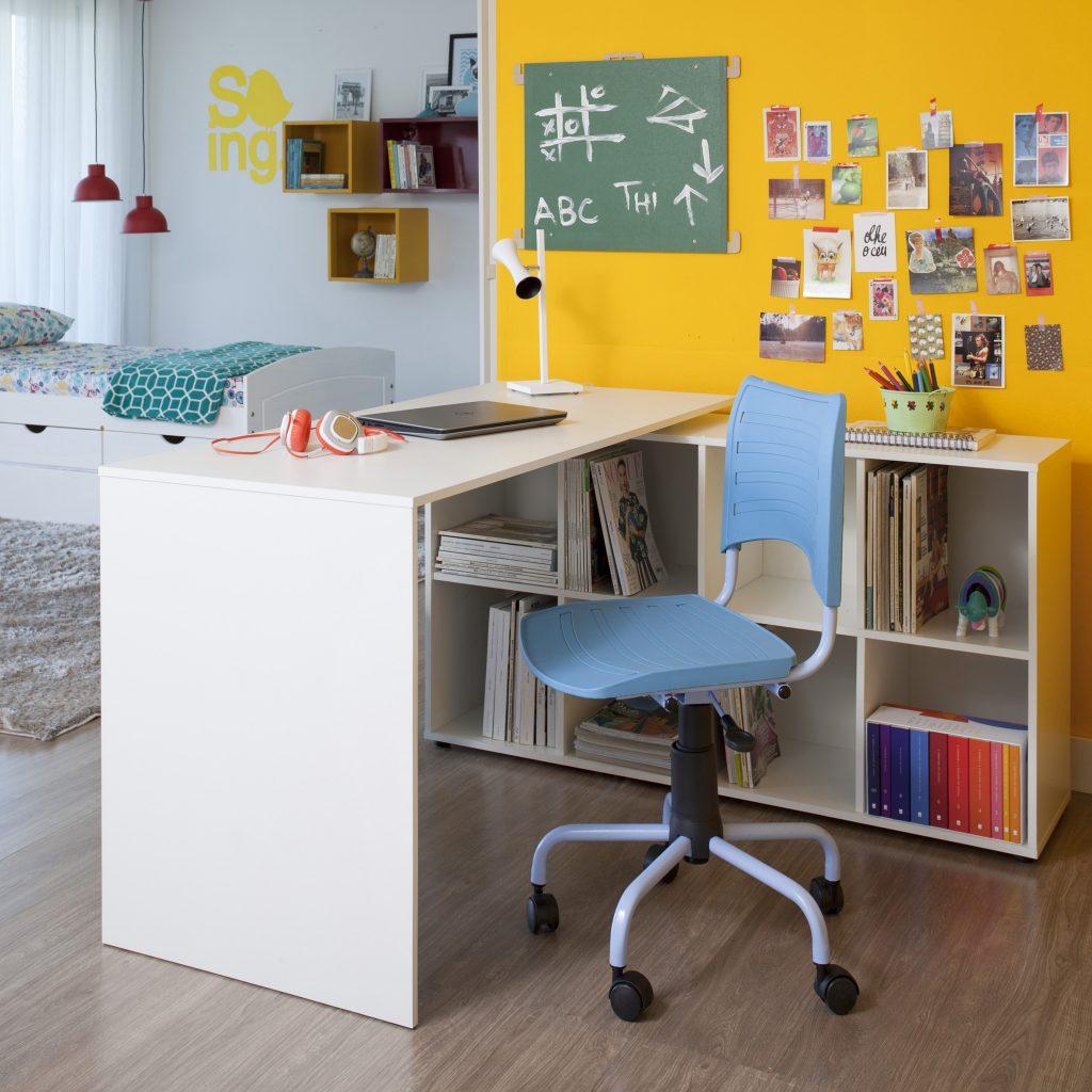 Decoração acessível para repúblicas estudantis - Área de estudo e/ou home office